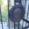 Stone Patio Railing decorative flower