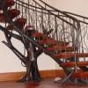 Tree Stair Railing